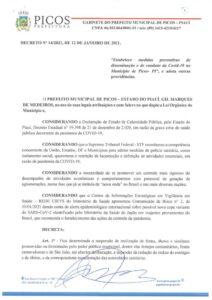 decreto Picos
